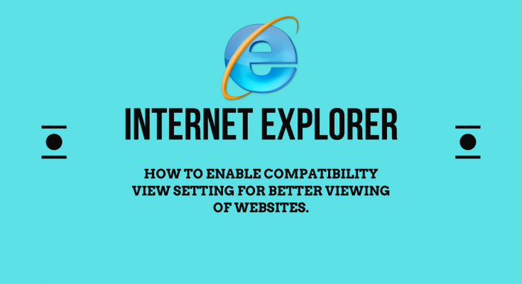 Internet Explorer compatibility view settings